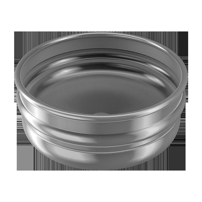 Sanela - Nerezové okrúhle umývadlo KEG na dosku