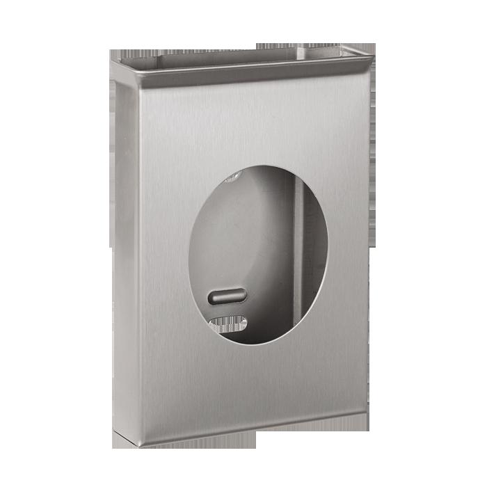 Sanela - Nerezový zásobník hygienických vrecúšok, povrch matný