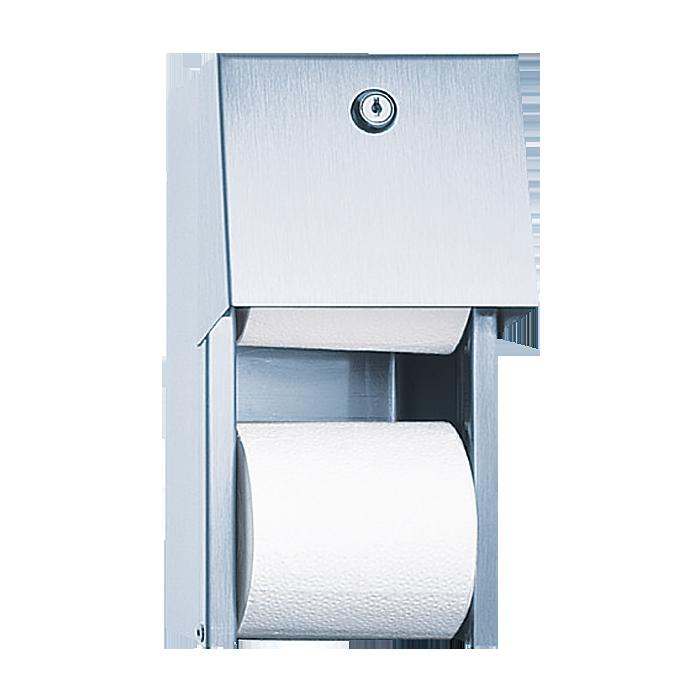 Sanela - Nerezový zásobník na toaletný papier, povrch matný