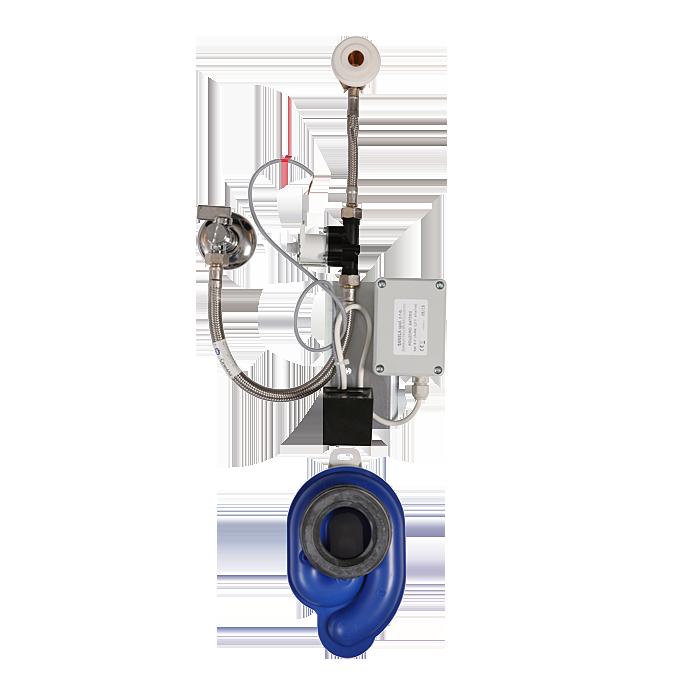 Sanela - Radarový splachovač na lište pre batériové napájanie, 6 V