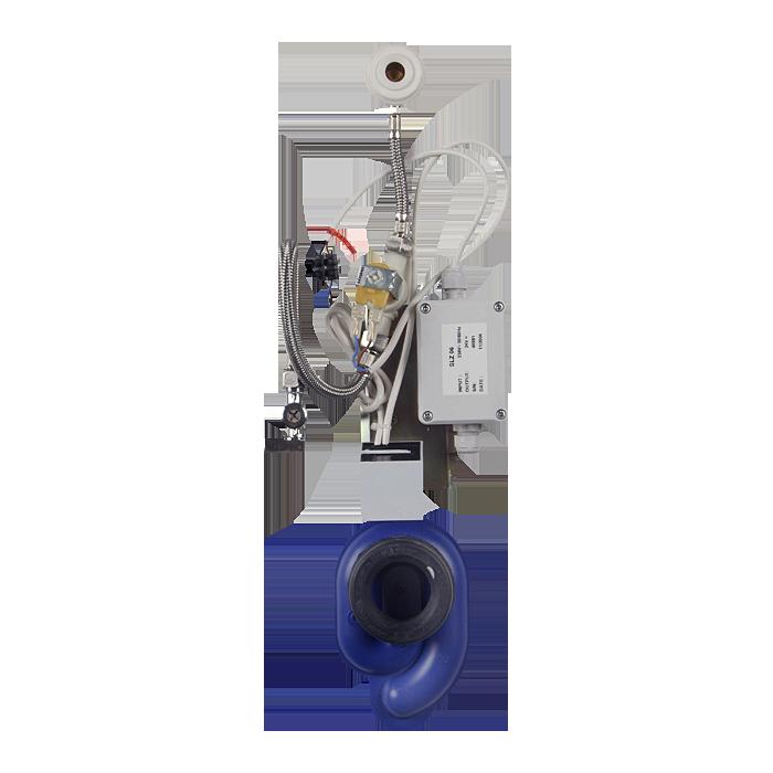 Sanela - Radarový splachovač na lište s integrovaným zdrojom, 230 V AC