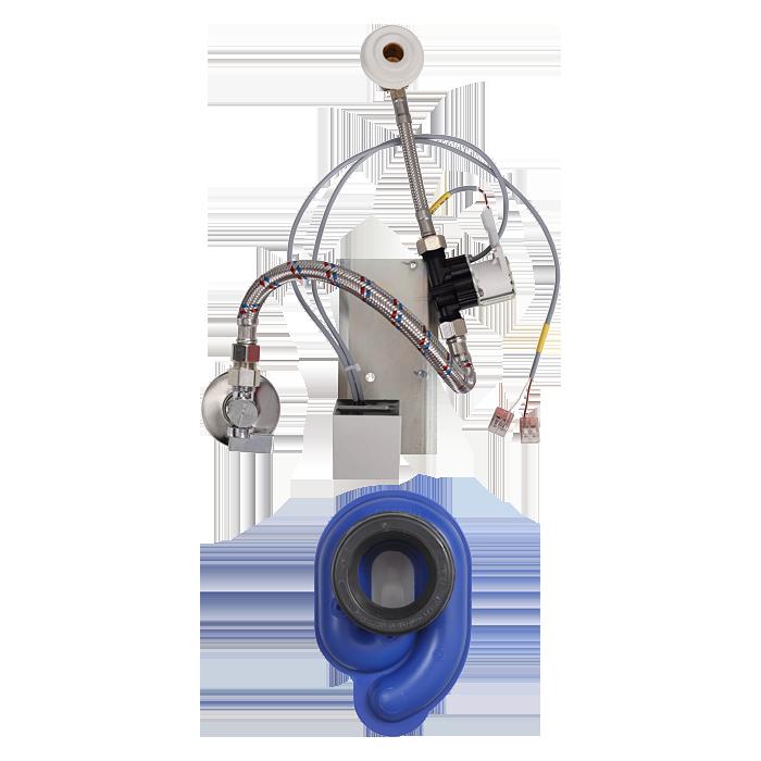 Sanela - Radarový splachovač na lište, 24 V DC
