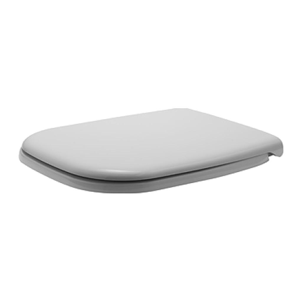 Duravit D-Code - WC sedátko, bez sklápacej automatiky, biele 0067410000