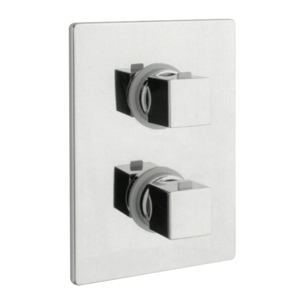 UNA Alpi Una - Sprchová batéria termostatická pod omietku, chróm 45161