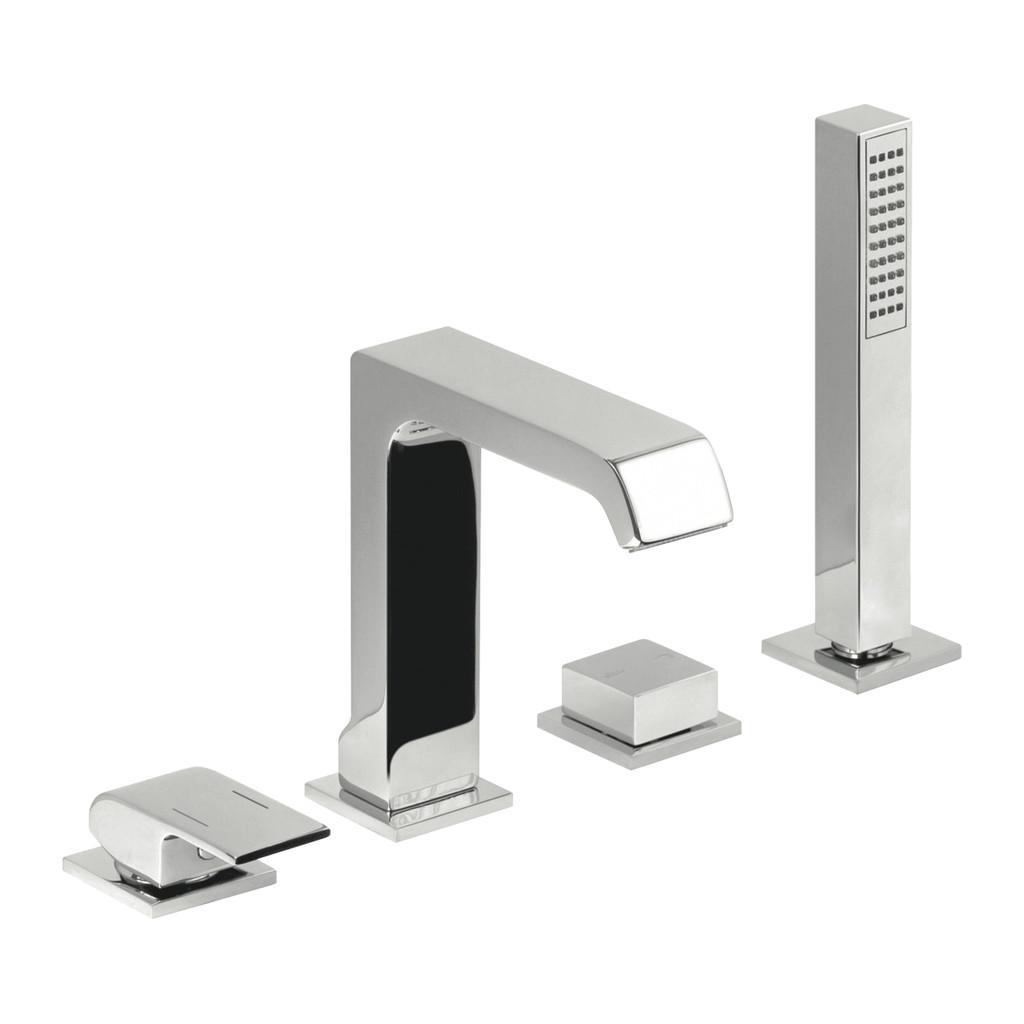 OKRAJOVÉ VAŇOVÉ SYSTÉMY Alpi okrajový vaňový systém - Vaňová batéria stojanková, štvorotvorová, chróm M23D30237