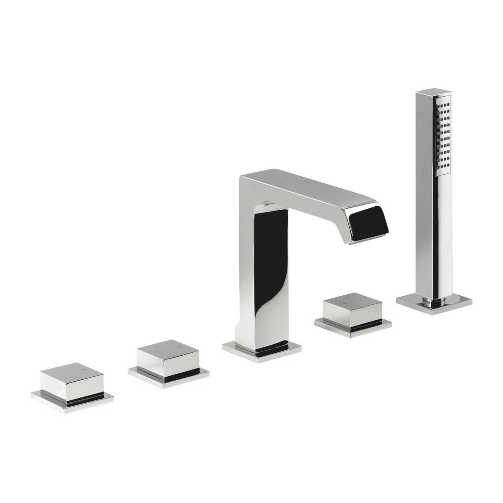 OKRAJOVÉ VAŇOVÉ SYSTÉMY Alpi okrajový vaňový systém - Vaňová batéria stojanková, päťotvorová, chróm PX21D30237