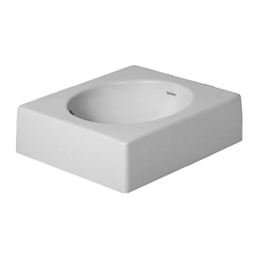 ARCHITEC Duravit Architec - Umývadlová brúsená misa, 42x42 cm, biela 0320420000