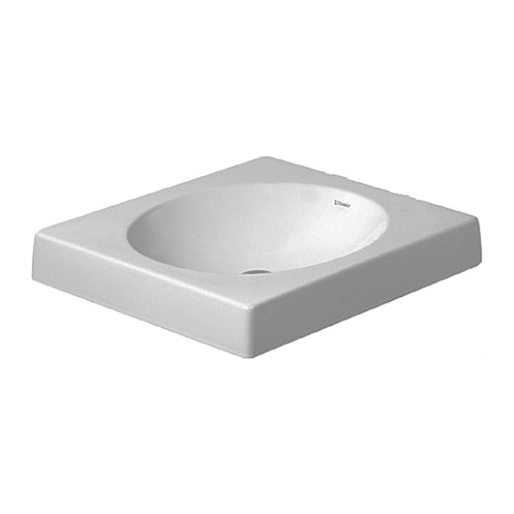 ARCHITEC Duravit Architec - umývadlová misa, bez otvoru pre armatúru, 50x50 cm, biela 0320500000